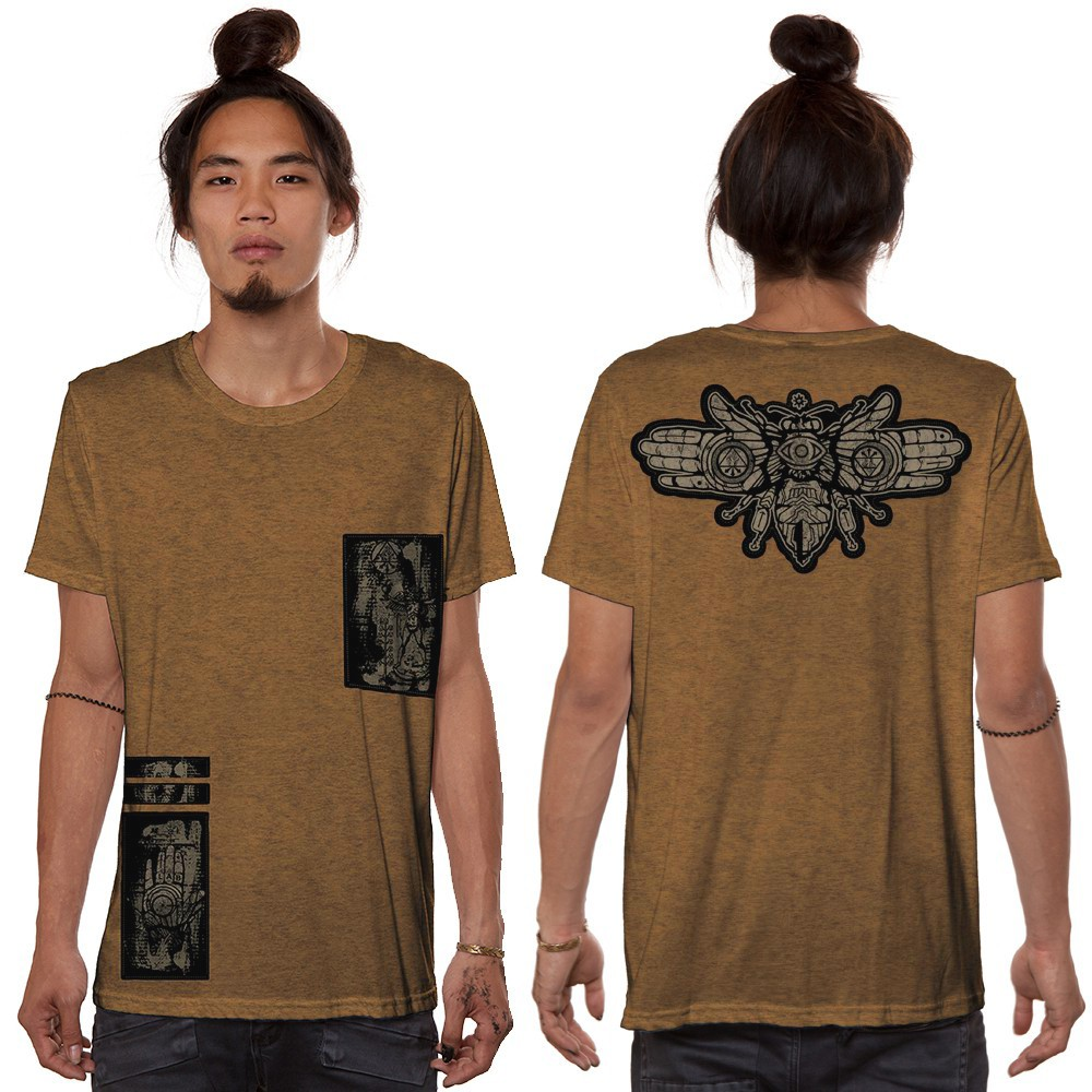 """Amarth"" t-shirt, Mottled moka"