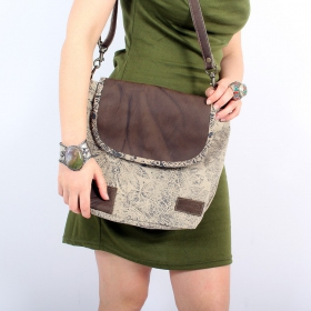 """""""Jahanara"""" bag, Brown and beige"""