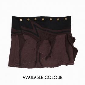 """Sadananda"" skirt, Brown"