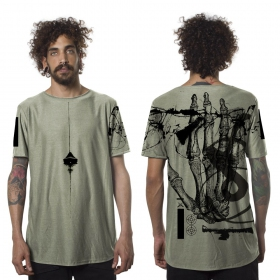 """Flint"" t-shirt, Olive green"