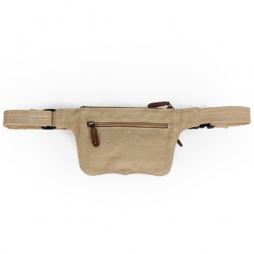 """Wanika"" pocket belt, Leather and cotton"