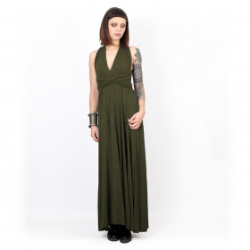 """Wakiza"" dress, Army green"
