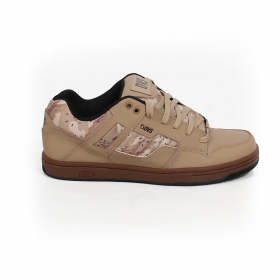 DVS skate shoes Enduro 125, Black leather with grey details