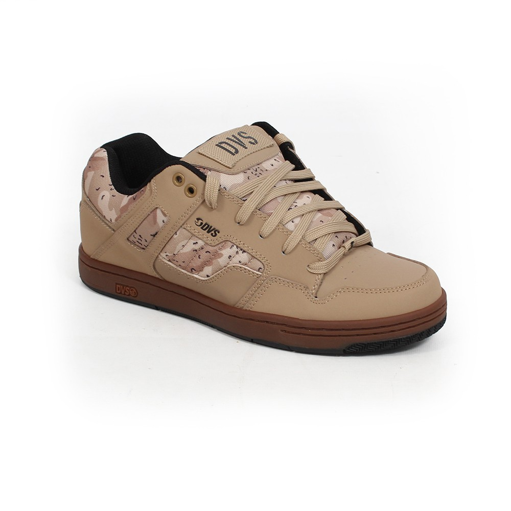 DVS Enduro 125, Camel nubuck leather with camo details