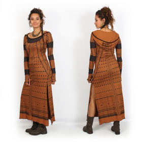 """Inanna Kalinga"" long dress, Sienna"