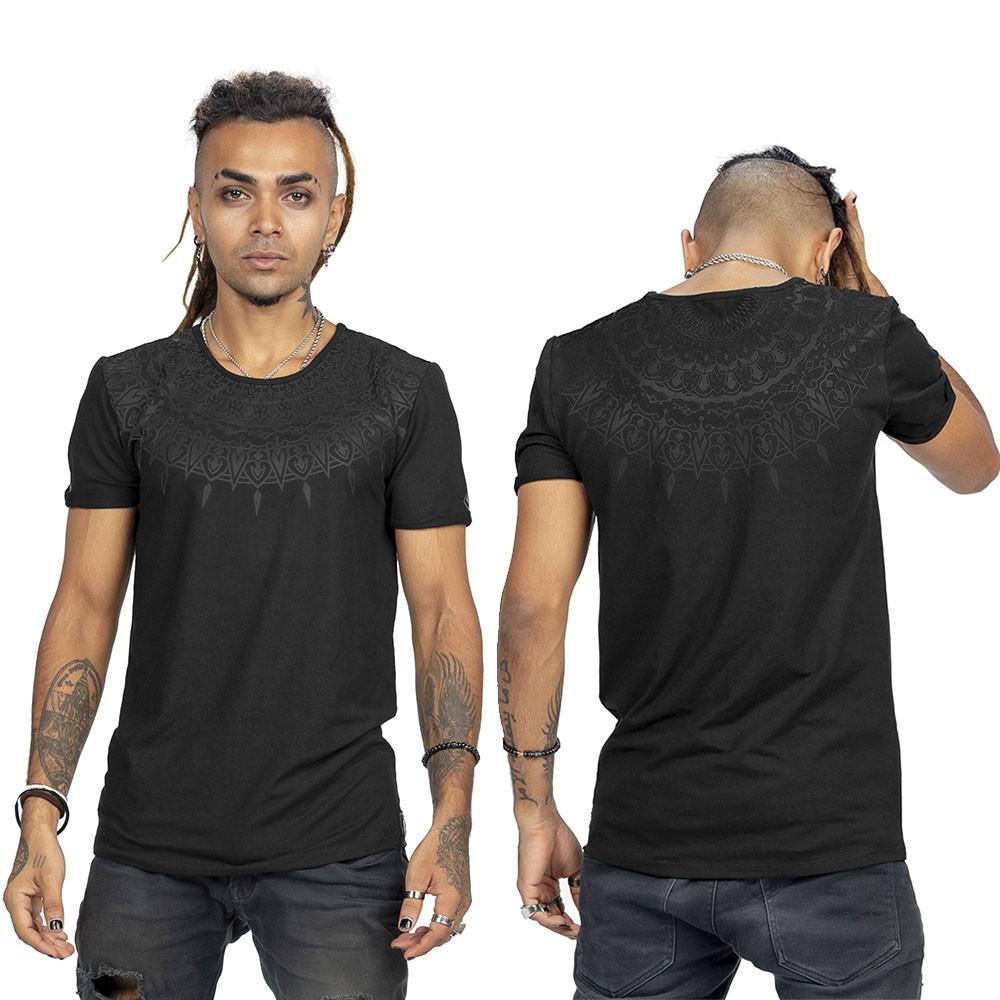 """Mandala"" t-shirt, Black"