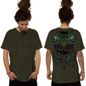 """Kambo"" t-shirt, Dark khaki"