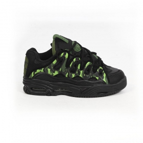 Osiris D3, Black and camouflage and green details