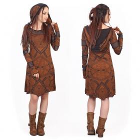 """Inanna Africa"" dress, Rusty"