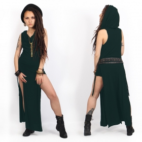 """""""Nephilim"""" dress, Peacock teal"""