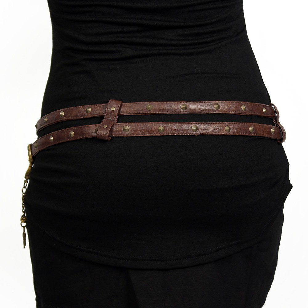 """Ravish"" belt, Brown"