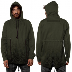 """Storm"" zipped jacket, Khaki green"