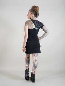 """Hypnotic"" short sleeved dress, Black"