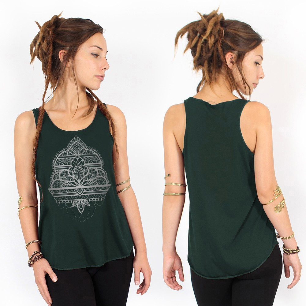 """Udana Temple"" tank top - Various colors available"