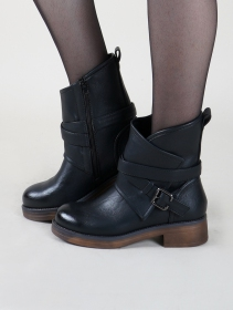 """""""Hafsana"""" ankle boots, Black"""