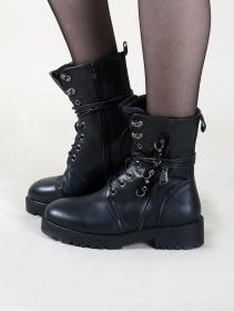 """Vijay"" boots, Black"