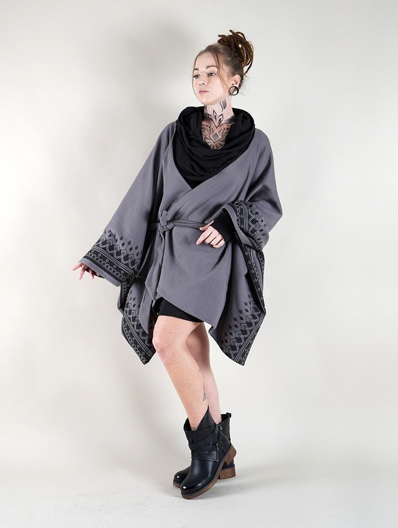 """Melian"" kimono jacket, Grey"