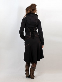 """Prophecy"" coat, Black"
