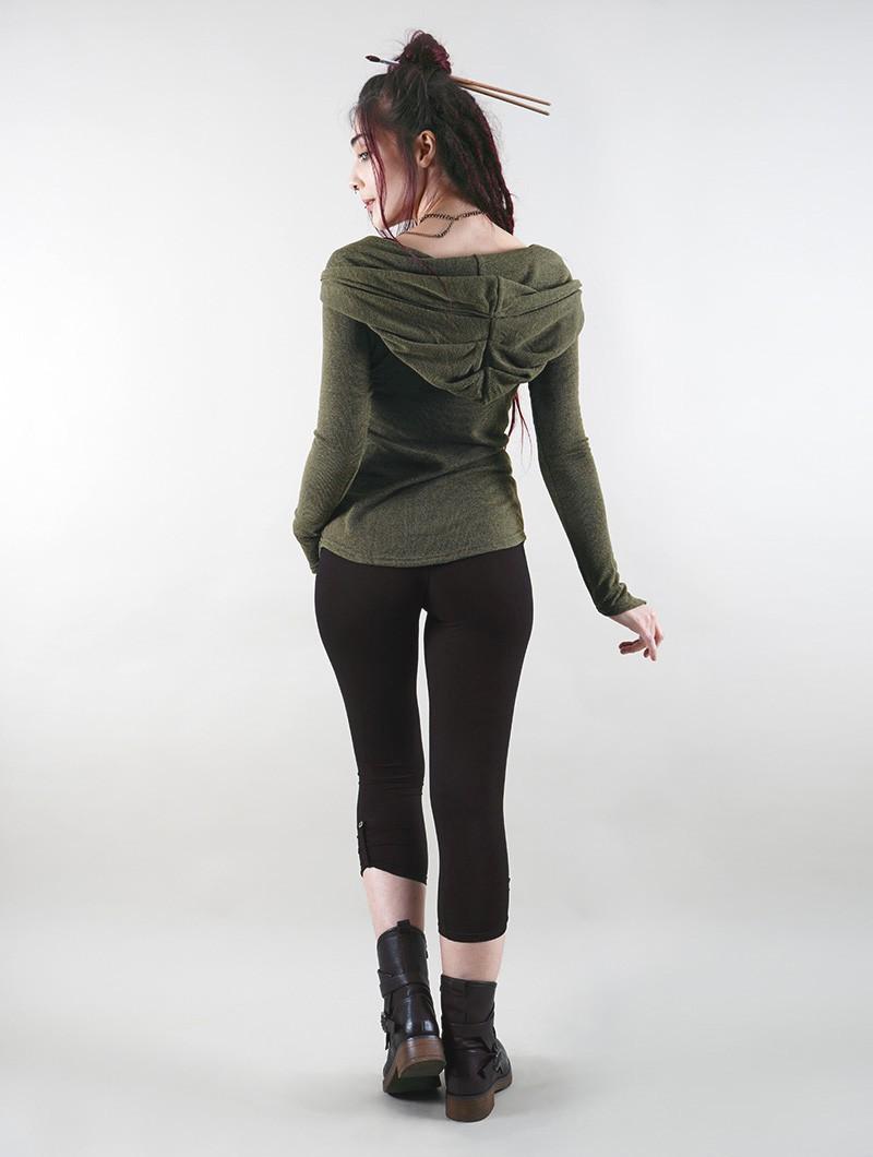 """Sha-Zu"" 3/4 leggings, Black"