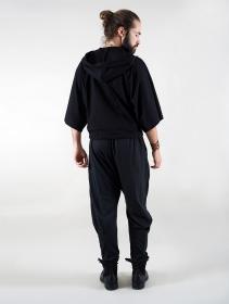 """Gender neutral - """"Iliya"""" hoodie, Black"""