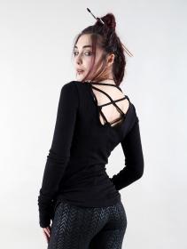 """""""Nikkäa"""" pullover, Black"""