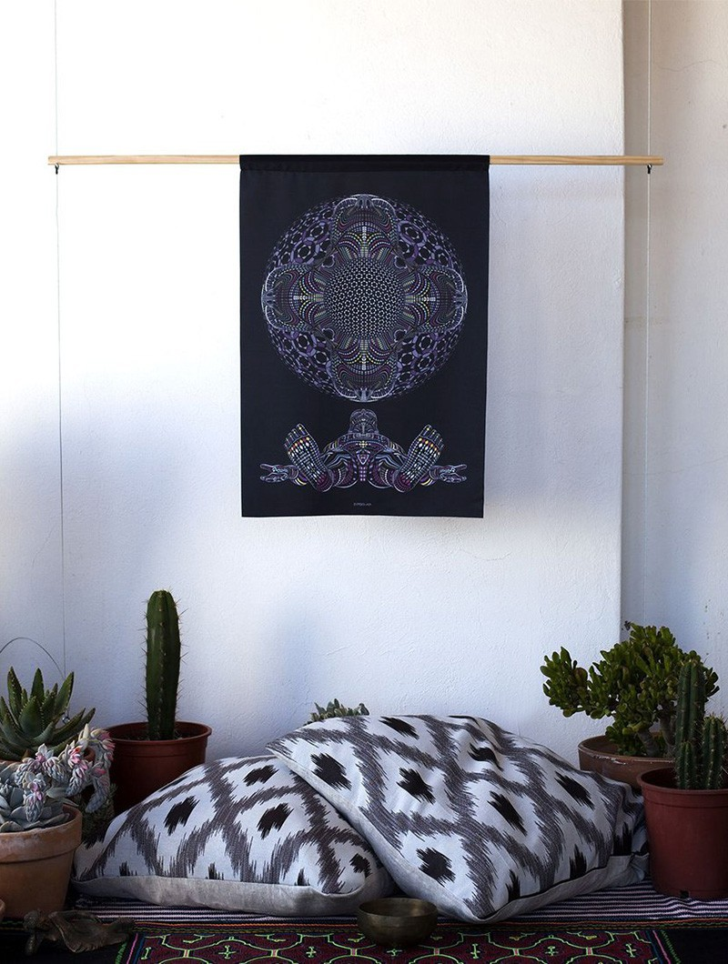 """DMT HD"" wall tapestry"