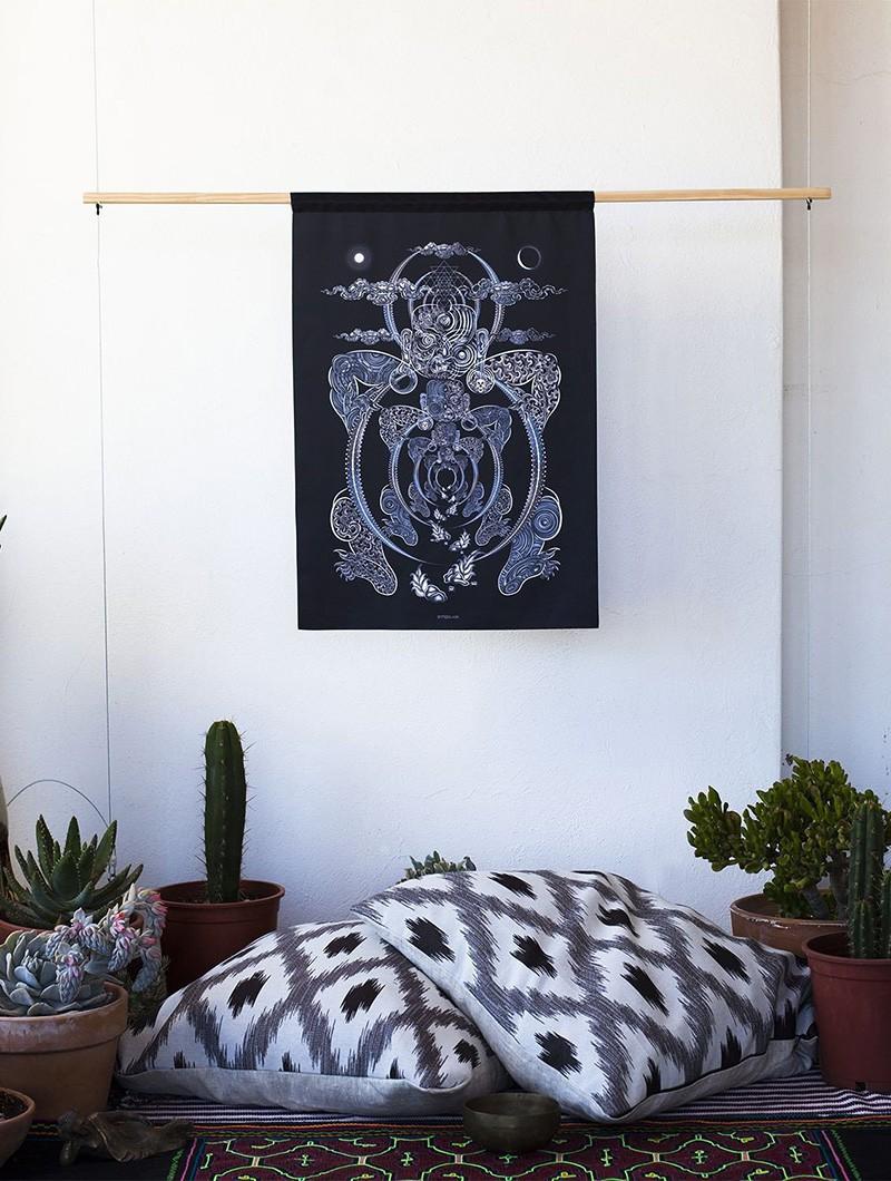 """Yogabhoga"" wall tapestry"