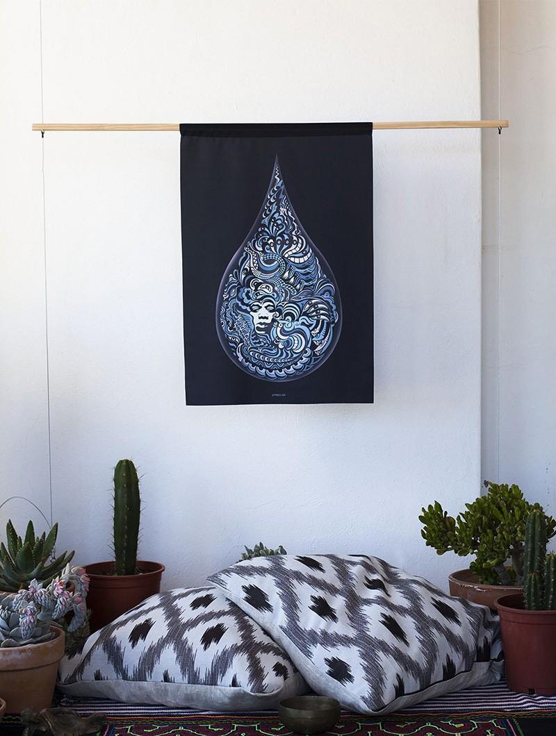 """LSD XXV"" wall tapestry"