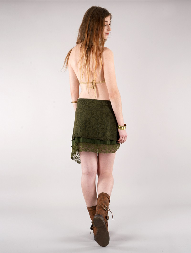 """Payoja"" skirt, Khaki green"