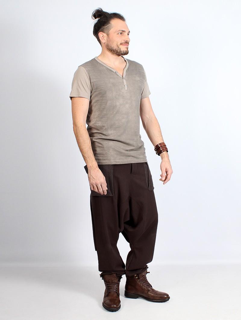 "Gender neutral - ""Ifarit"" Harem pants, Brown"