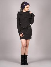 """Mantra"" sweater dress, Dark grey"