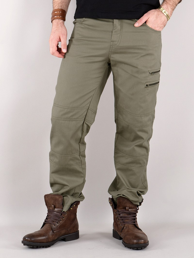 """Isildur"" cargo trousers, Olive green"