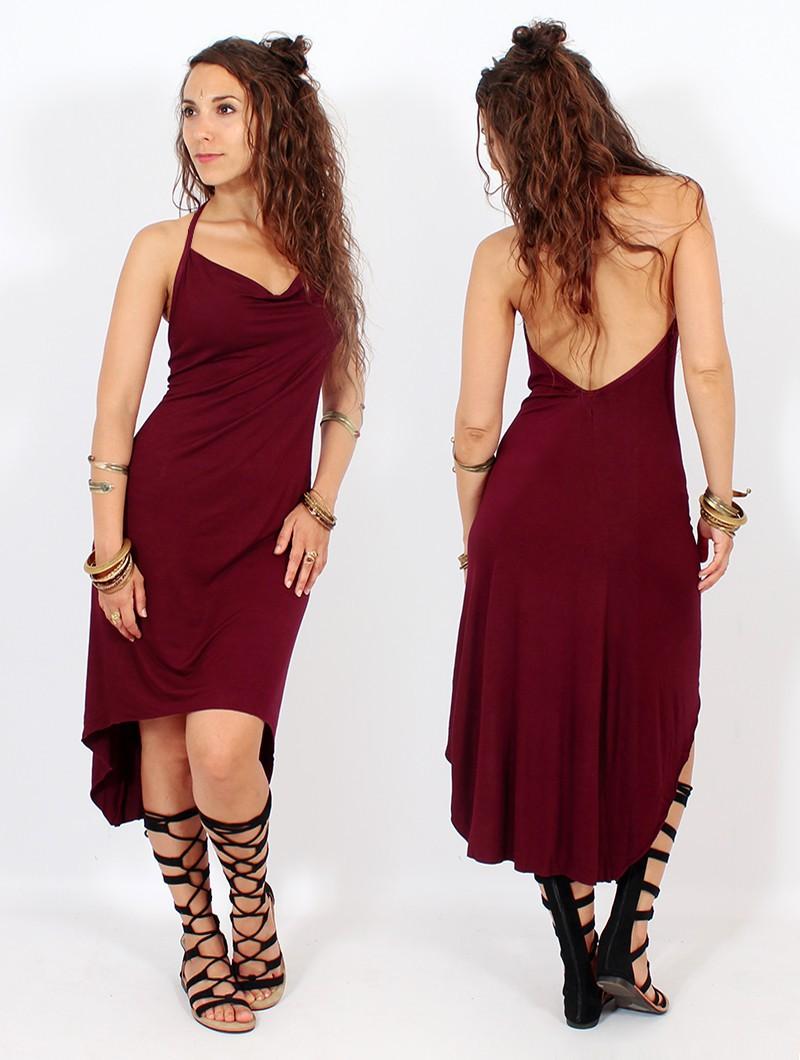 """""""Trisha"""" Dress, Wine"""