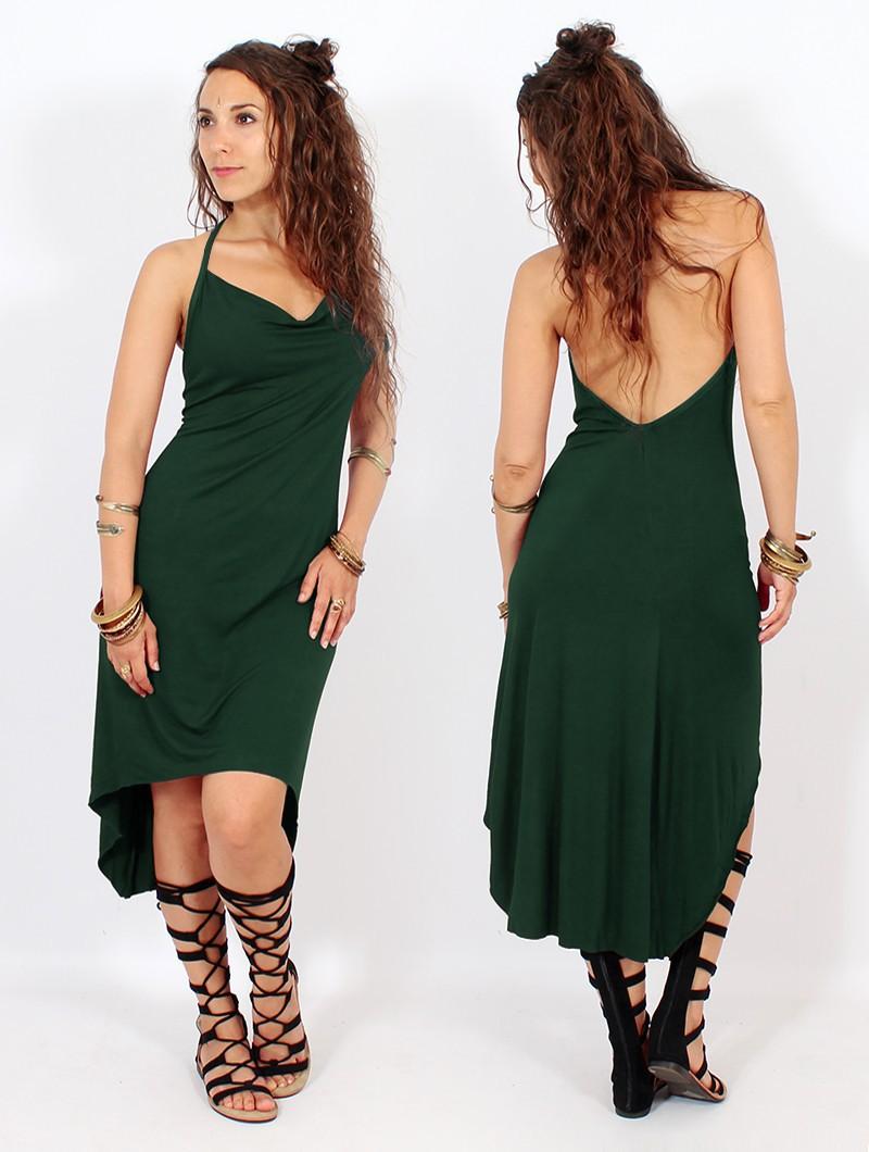"""""""Trisha"""" Dress, Forest green"""