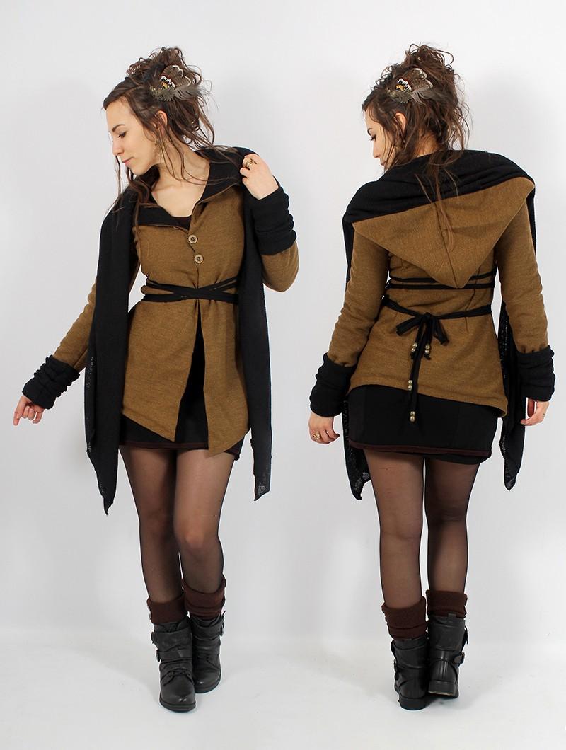 """Azmäe"" coat, Rusty and black"