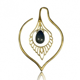 \'\'Paanee Lapis\'\' ear jewel