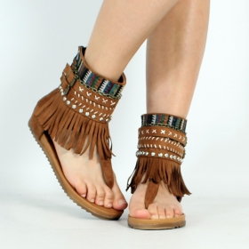\'\'Payal\'\' sandals, Camel
