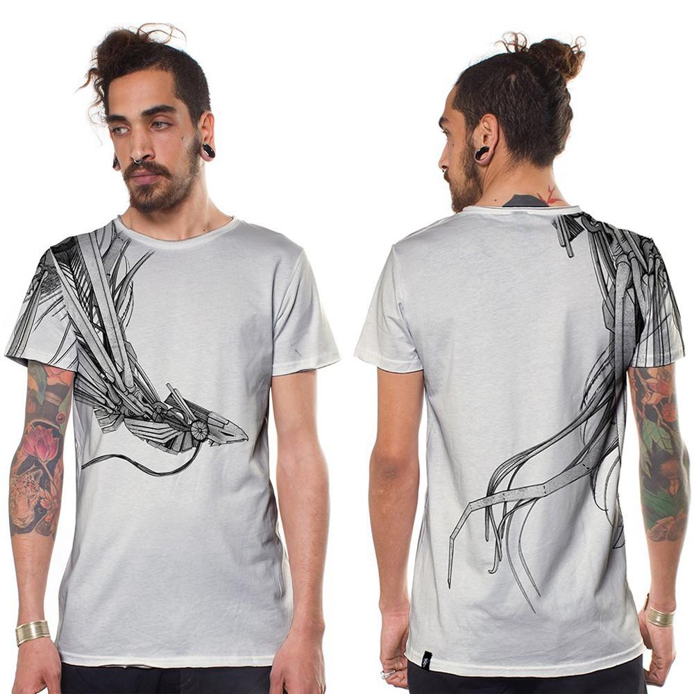 T shirt imprim main flocage print silkscreen for Phoenix t shirt printing