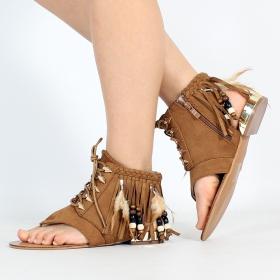 \'\'Prafula\'\' sandals, Camel
