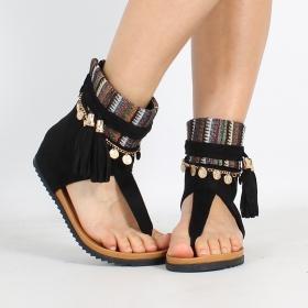 \'\'Priti\'\' sandals, Black