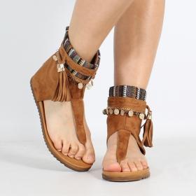 \'\'Priti\'\' sandals, Camel