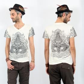 \'\'Rahu2\'\' t-shirt, White