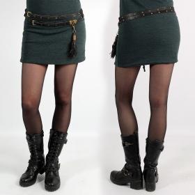 \'\'Ravish\'\' belt, Black leather