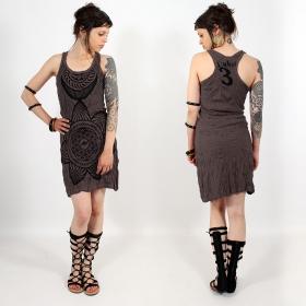 \\\'\\\'Sacred Geometry\\\'\\\' dress, Dark purple