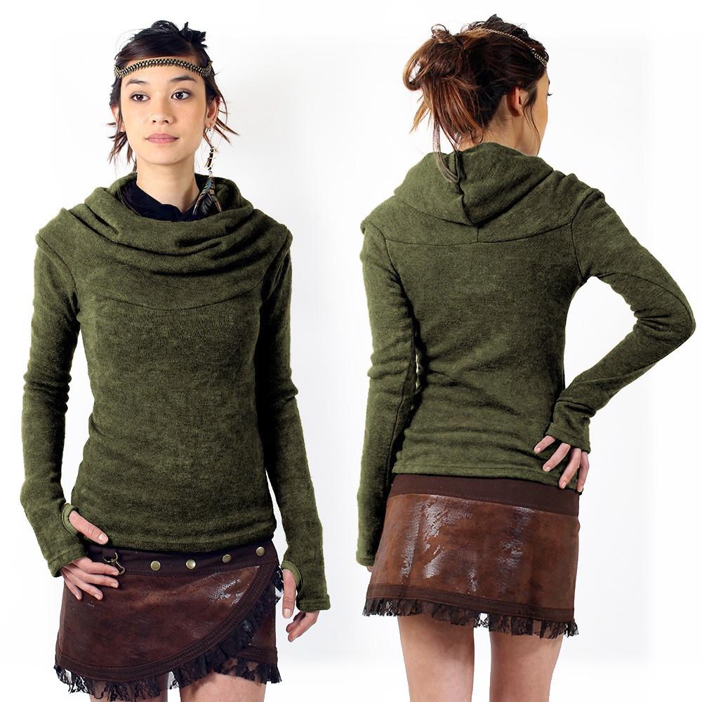 \'\'Sadiva\'\' pullover, Khaki