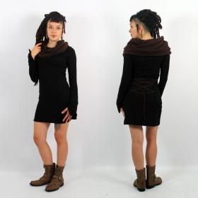 \\\'\\\'Shaë-Lï\\\'\\\' bicolor dress, Black and brown