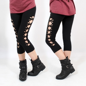 \\\'\\\'Shinta\\\'\\\' leggings, Black