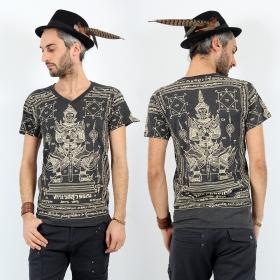 \'\'Vaisravana\'\' t-shirt, Dark grey