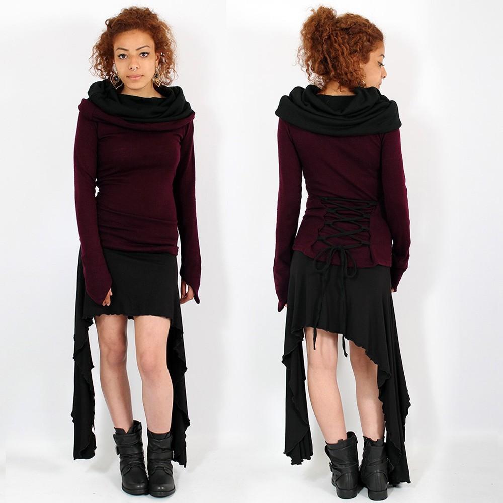 \\\'\\\'Vishamata\\\'\\\' skirt, Black
