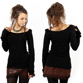 \'\'Ysïs\'\' pullover, Black